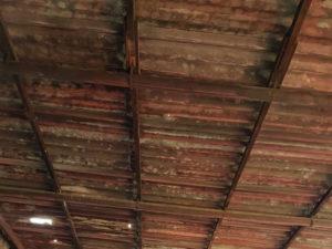 Bonifica amianto: tettoia